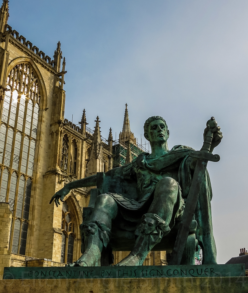 Feeling small, kneeling before the greatest Emperor York had ever seen.